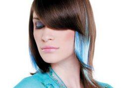 آموزش تصویری رنگ کردن موها مدل فانتزی