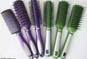 عکس انواع شانه و بورس مو و کاربردهایشان