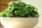 ماسک اسفناج و روغن زیتون مفید برای شفافیت پوست