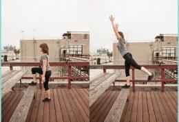 آموزش تصویری ورزش چربی سوز درمنزل