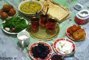 بهترین و مناسب ترین خوردنی ها در افطار