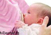 بازگشت به وزن طبیعی مادر با شیردادن به نوزاد