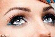 آموزش تصویری از بین بردن عیبهای چشم با آرایش
