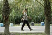 کاهش دور کمر با پیاده روی