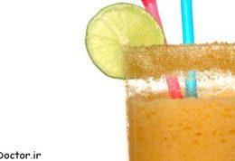 9 منفعت آب طالبی نارنجی