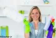 آیا پاک کننده های خانگی بیمارتان میکند؟