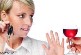 جنبه های منفی  مصرف الکل