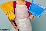 5 نکته برای سوزاندن کالری در حین انجام کارهای خانه