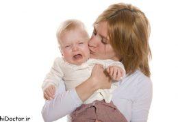 چطوری گریه کودک را متوقف کنیم
