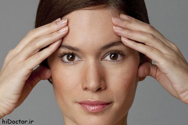 ماساژ عضلات صورت