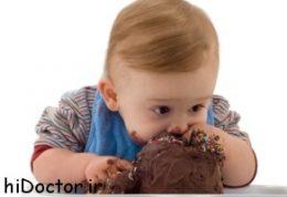 مضرات بستنی برای کودکان زیر سه سال