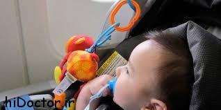 نکاتی که در حین سفر با نوزاد باید رعایت کرد