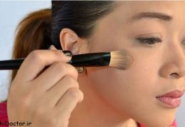 آرایش  تصویری مخصوص فصل زمستان را بیاموزیم