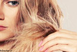 ارتباط  شکنندگی موها با رنگ مو