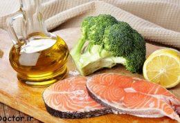 غذاهایی که سطح تری گلیسیرید خون را پایین می آورد