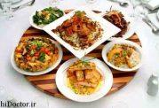 بررسی فاکتور های یک شام خوب و کامل