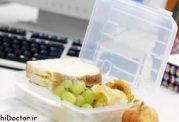 در زمان کار از تغذیه غافل نشوید