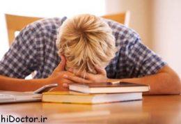 سردرد زیاد بعلت داشتن استرس زیاد است