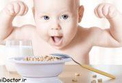 کودکان نیز نیازمند رژیم غذایی سالم اند