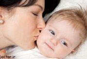 چرا باید کودک را بوسید