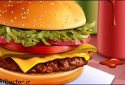 همبرگری مخصوص افراد گیاهخوار