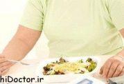 رابطه ی افزایش وزن و کاهش اشتها
