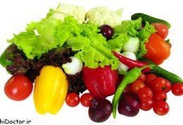 سبزیجات برای رژیمی ها
