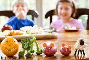 چگونه به کودک خود سبزیجات بدهیم