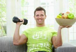 خوردن از مواد غذایی بعد از ورزش مفید است
