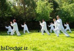 نکات مثبت در ورزش تایچی  و چگونگی انجام آن