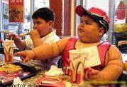هشدار هایی درمورد چاقی کودکان