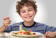 میزان استاندارد حجم غذای کودکان