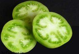 عضلاتی بزرگتر و قویتر با گوجه سبز