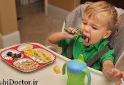 نکاتی مهم در مورد غذا خوردن صحیح کودک
