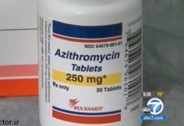 طرز استقاده از قرص آزیترومایسین
