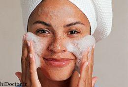 برای پوست های مستعد آکنه بهترین شویندهها  کدام است؟