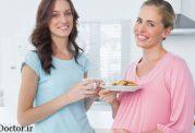 اندازه غذا در دوران بارداری چه مقدار باید باشد؟