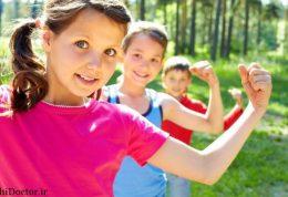 کاهش ریسک ابتلا به دیابت و بیماری قلبی  با کودکی قوی
