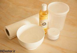 آموزش تصویری دستمال مرطوب کننده آرایشی