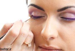 آرایش بر حسب حالات مختلف چشم