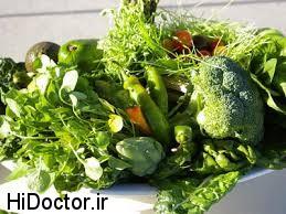 تا می توانید میوه و سبزیجات سبز استفاده کنید!