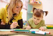 چطوری به بچه پیش دبستانی در منزل  درس بدهیم