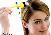 آموزش درست کردن رنگ موی گیاهی-قهوه ای روشن