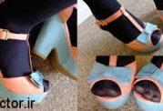 کفشهای جلو باز را چگونه بپوشیم