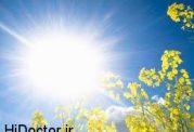 تقویت رویش مو در بانوان با آفتاب