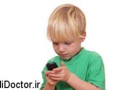 مهمترین عوارض تلفن همراه برای کودک