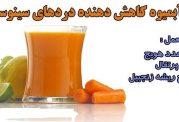 آبمیوه کاهش دهنده دردهای سینوسی