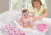 شستن نوزاد چند روزه و مراقبت های آن
