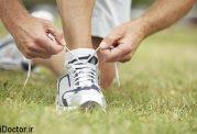 برای حفاظت از قوزک پا  بند کفشتان را اینگونه ببندید