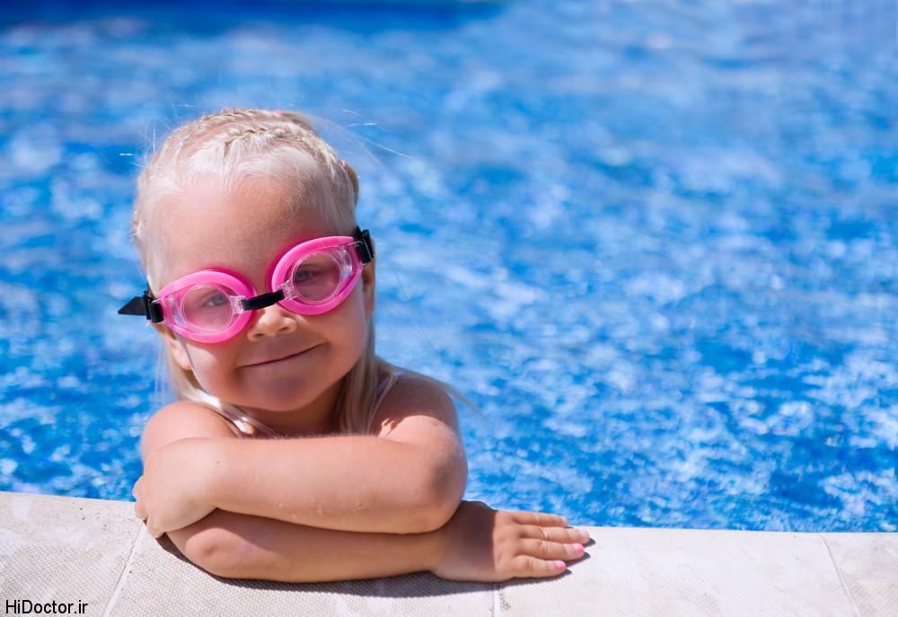 در 4 مرحله شیوه تمیز کردن عینک شنا را یاد بگیرید